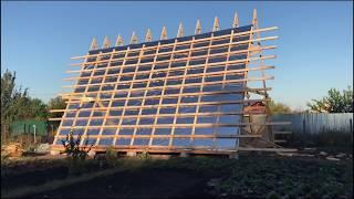 А-образный дом-шалаш: разбор примеров и особенностей строительства - огород, сад, балкон - медиаплатформа миртесен