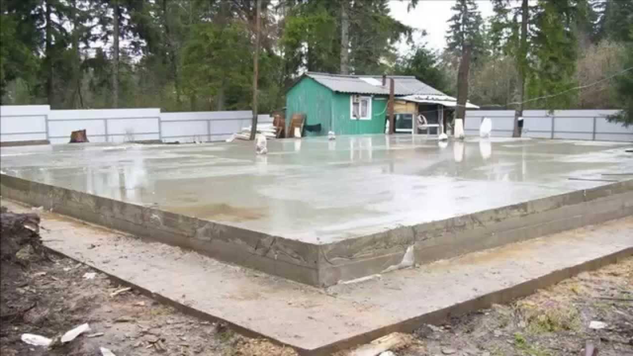 Как сделать расчет толщины и арматуры для плитного фундамента