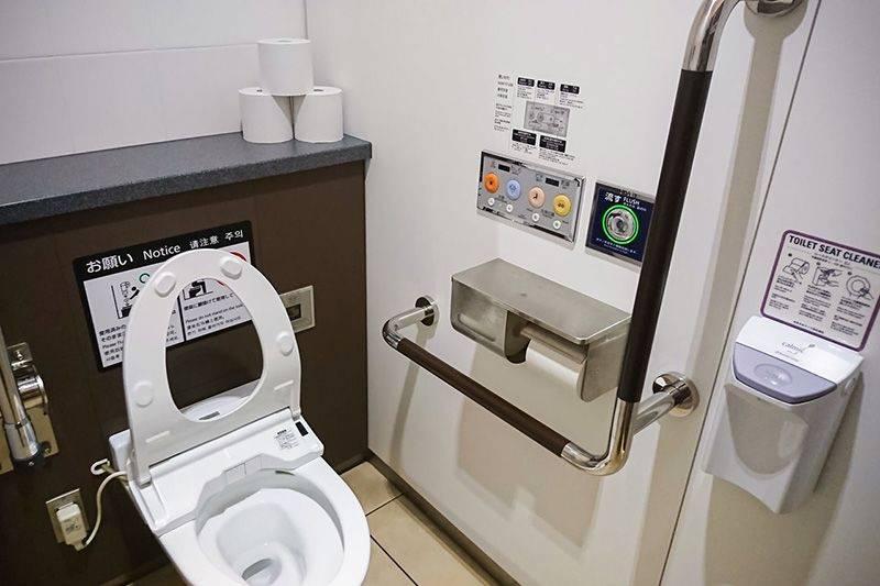 Японский туалет - как он выглядит