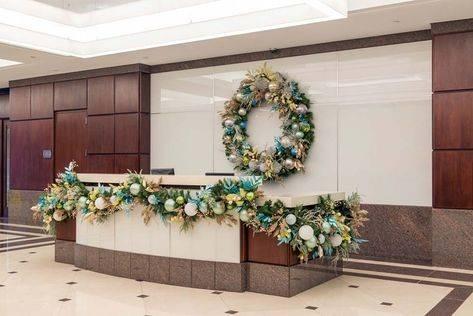 Как украсить офис на новый год своими руками: мастер-классы, схемы, пошаговые фото
