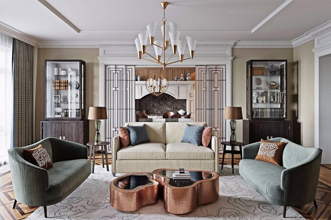 Характерные особенности стиля эклектика в интерьере - о комнате