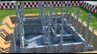 Бетон в строительстве, где применяется и какие технологии существуют