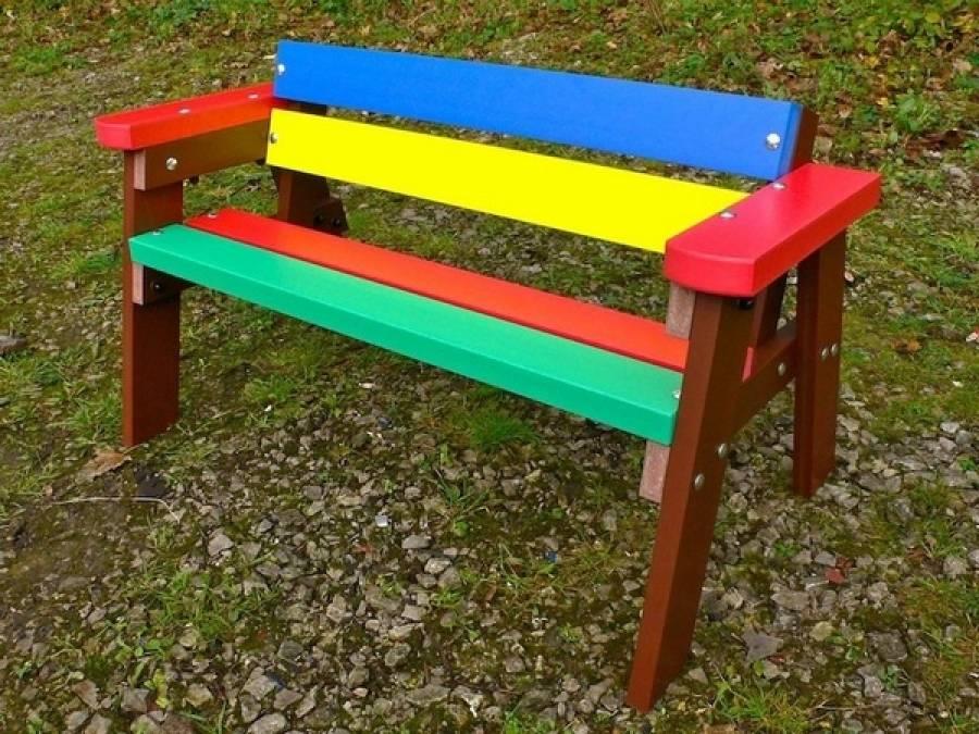 100 лучших идей: скамейки из дерева для дачи своими руками фото