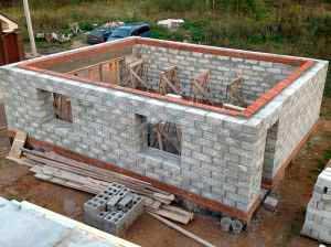 Фундамент для дома из пеноблоков: критерии выбора, особенности заливки