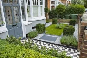 Ландшафтный дизайн перед домом: правила, идеи и примеры оформления на фото и видео
