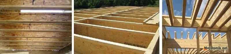 Особенности деревянных балок перекрытия