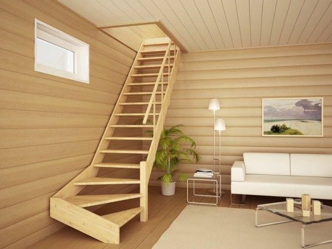 Пошаговая инструкция по изготовлению приставной деревянной лестницы