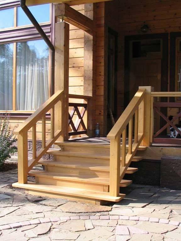 Крыльцо к дому: этапы постройки, варианты оформления и обзор лучших решений (140 фото)