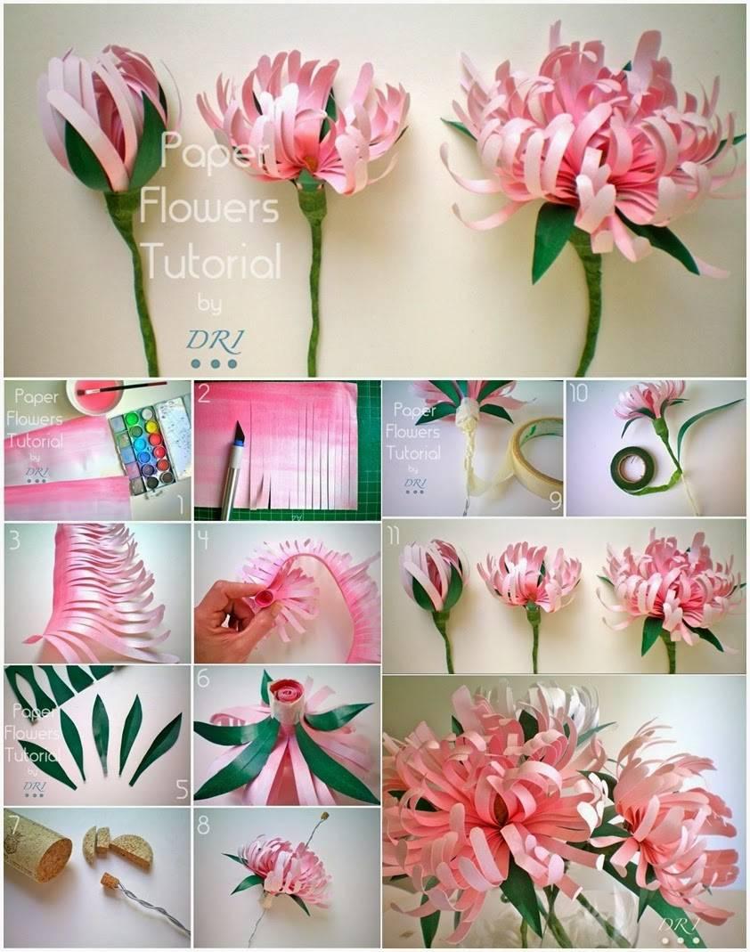Как сделать цветы своими руками: схемы, шаблоны и интересные проекты по созданию цветов (105 фото)