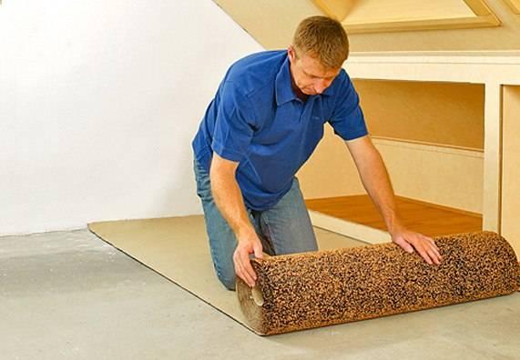 Укладка подложки под ламинат своими руками - пошаговая инструкция с фото