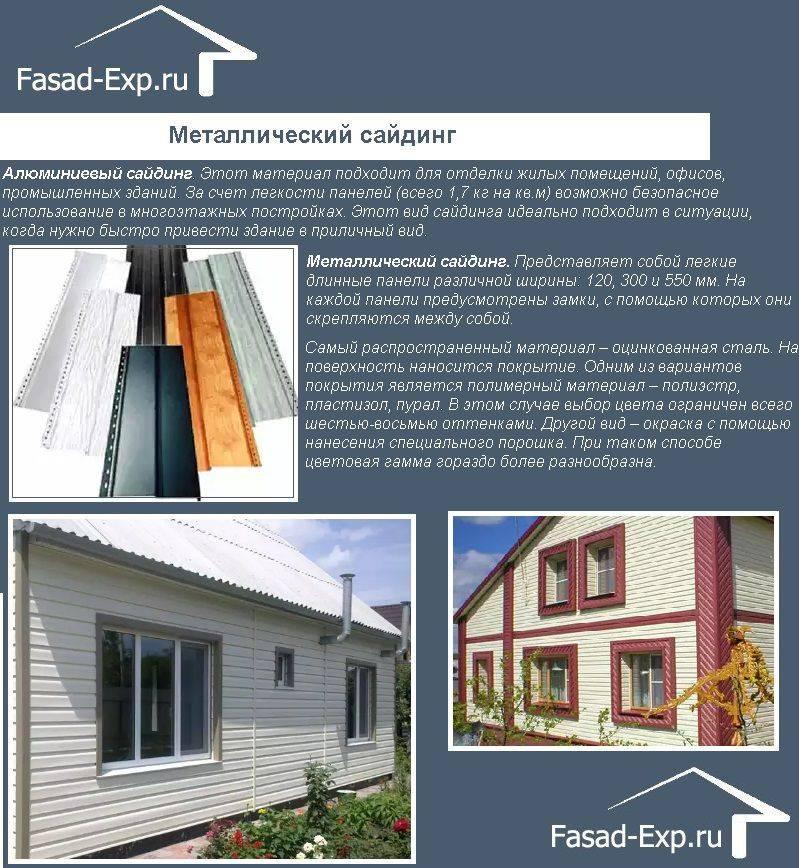 Размеры фасадных панелей и расчет количества на дом