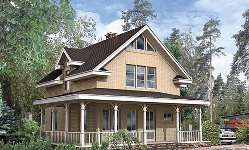 Стоимость одноэтажного каркасного дома на 100 м2 под ключ