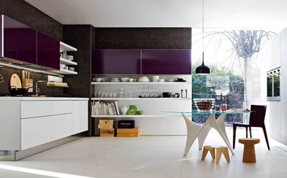 35 удачных идей дизайна прямоугольной кухни