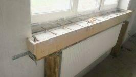 Установка подоконника (46 фото): как установить, монтаж и замена откосов, как правильно устанавливать