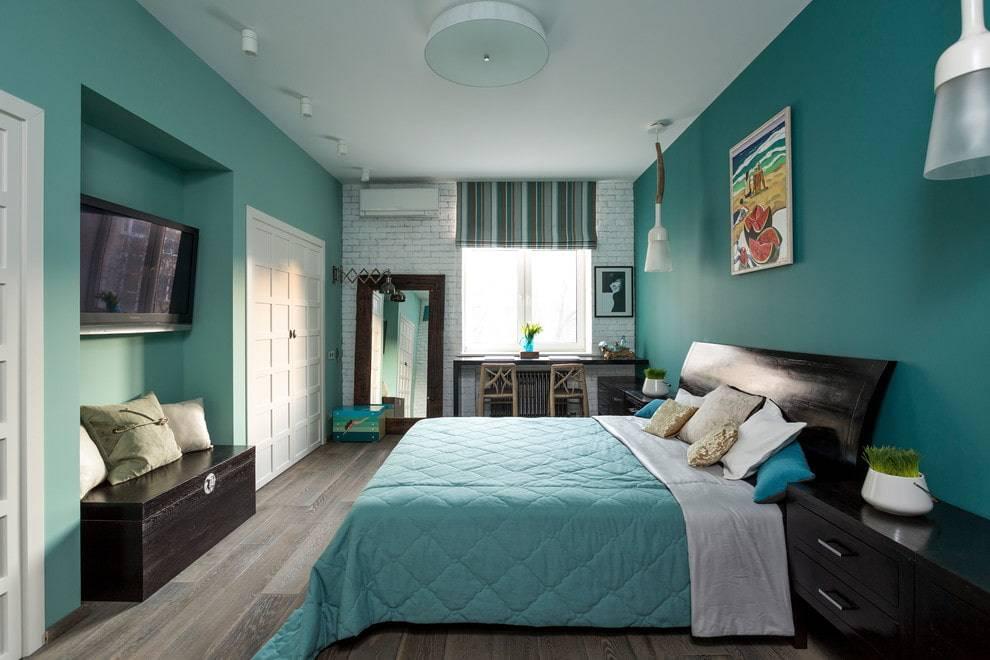 75 правильных сочетаний цветов в интерьере спальни на фото