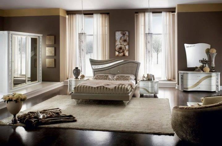 Тонкости оформления спальни в стиле модерн