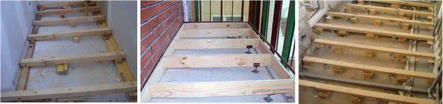 Пол на балконе своими руками (42 фото): из чего можно сделать теплый и деревянный пол пошаговая инструкция, какой из них лучше