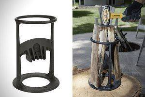 Как колоть дрова колуном и топором, техника колки, как рубить дрова конусом и винтом
