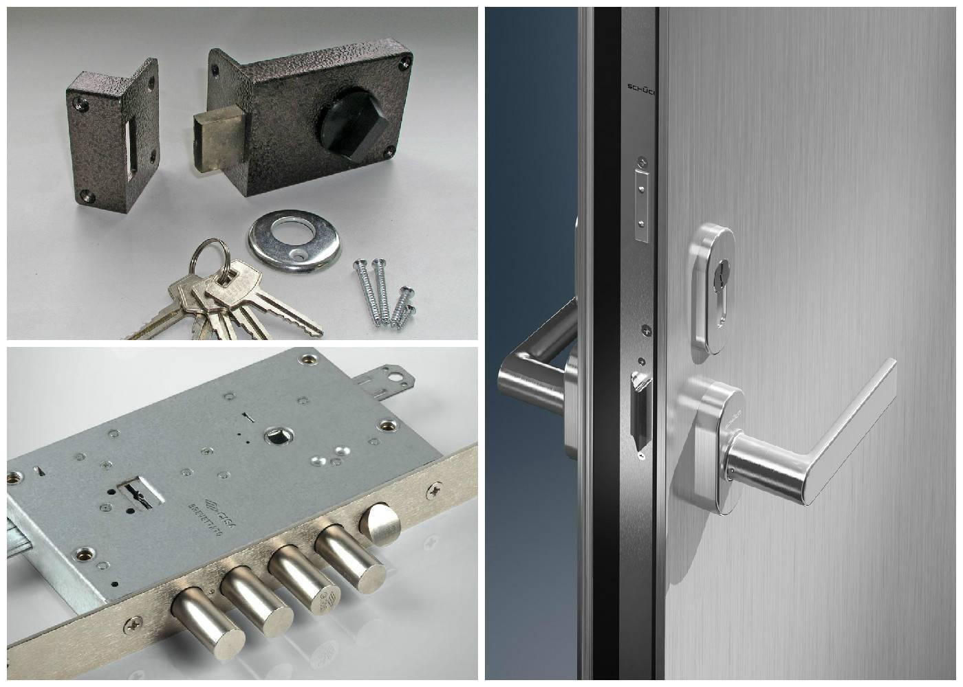 Установка замка на входную дверь: пошаговая инструкция с видео