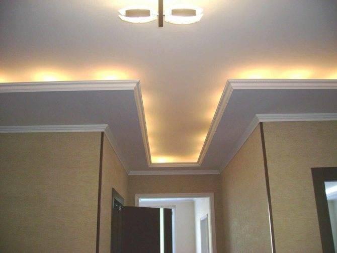 Потолки из гипсокартона (90 фото) - идеи дизайна потолков в разных комнатах