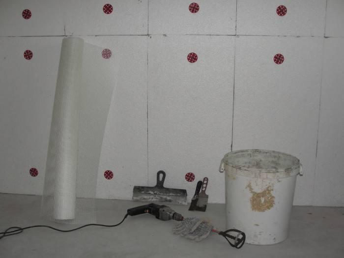 Утепление стен пенополистиролом изнутри и снаружи