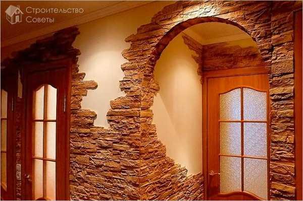 Декоративная отделка арок: обоями, деревом,плиткой, мозаикой, камнем. как отделать арку обоями, деревом, плиткой, мозаикой, камнеминформационный строительный сайт |