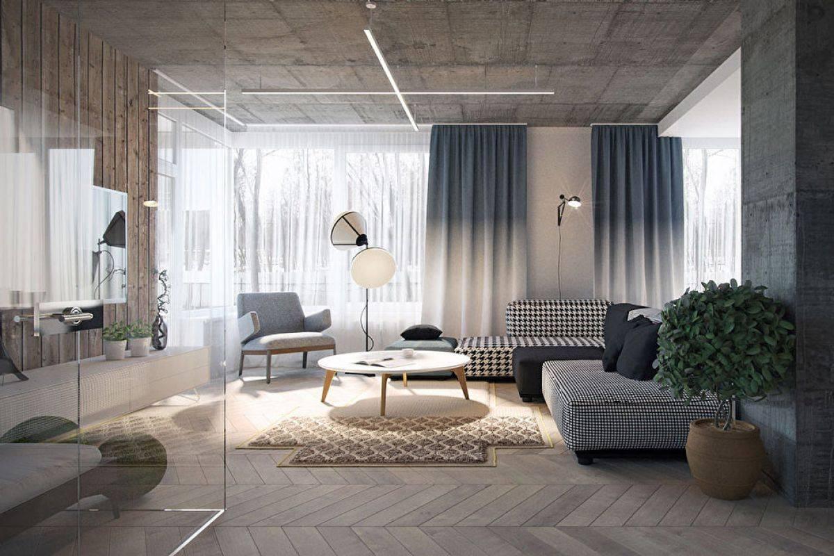 Гостиная с камином — 97 фото стильного оформления дизайна