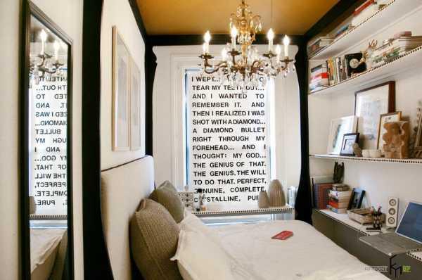 Спальня в однокомнатной квартире: 100 фото идей - дизайн интерьера