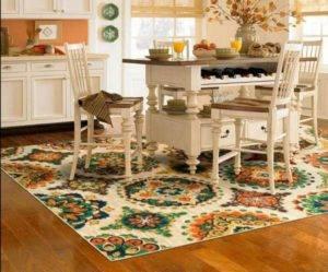 Как подобрать ковровое покрытие для кухни