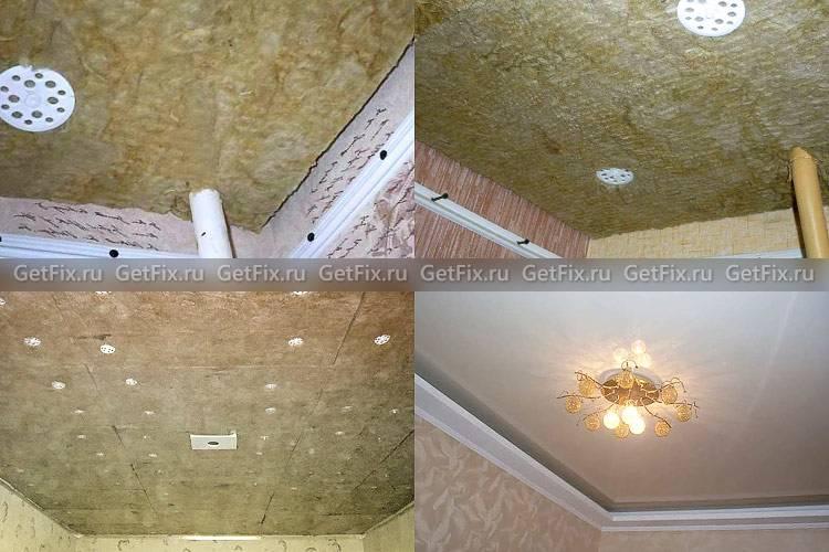 Шумоизоляция потолка в квартире под натяжной потолок или как улучшить акустику