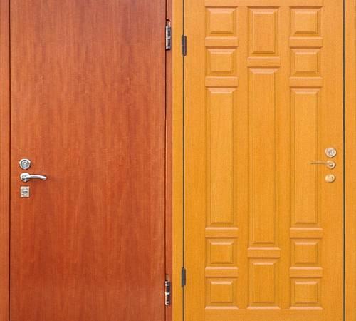 Как обшить дверь – выбираем материал и выполняем работы самостоятельно – свой дом мечты
