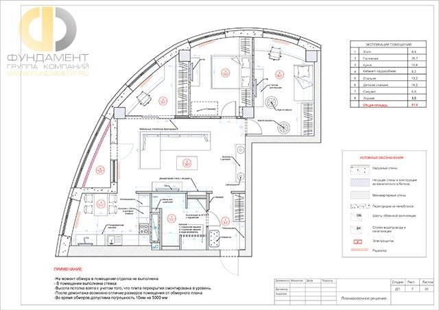 Планировка 1-й (однокомнатной) квартиры + (210+ фото)
