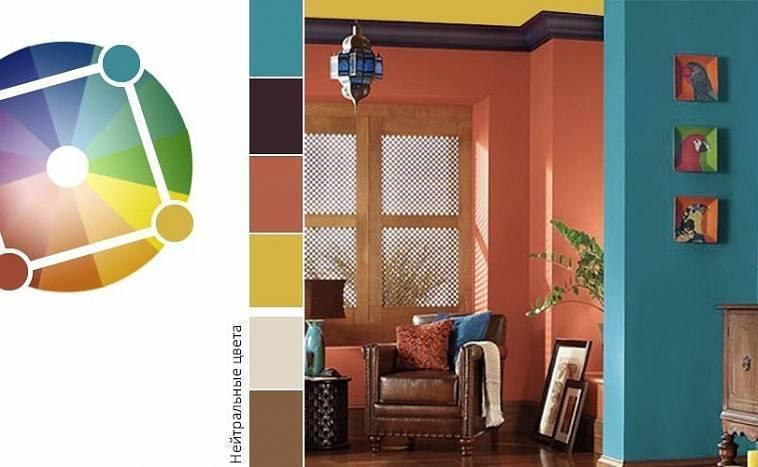 Таблица сочетания цветов в интерьере или как добиться гармонии в собственном доме