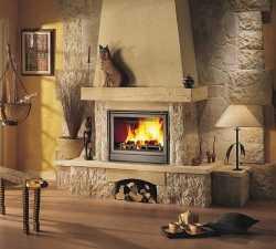 Установка печи камина в деревянном доме: монтаж дымохода, фото, как установить своими руками, какое место выбрать для конструкции