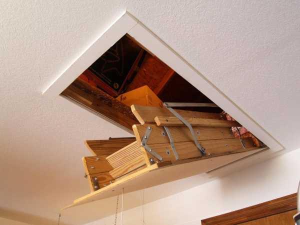 Чердачные лестницы — топ-110 фото применения чердачных лестниц. преимущества и недостатки. распространенные варианты и способы их крепления