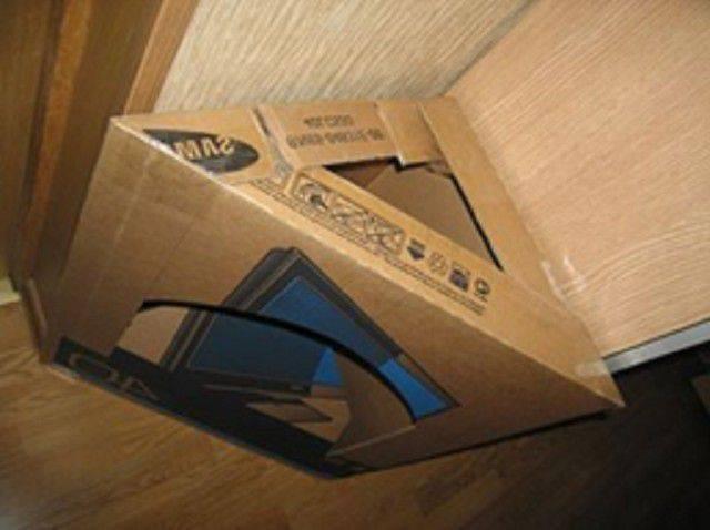 Камин из коробок своими руками: 7 пошаговых инструкций, фальш-камины из картона (фото + видео)