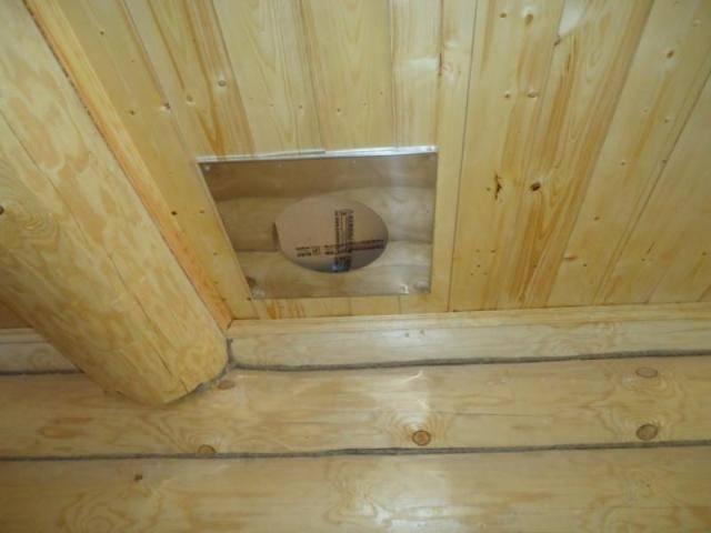 Дымоход через стену в деревянном доме: порядок установки