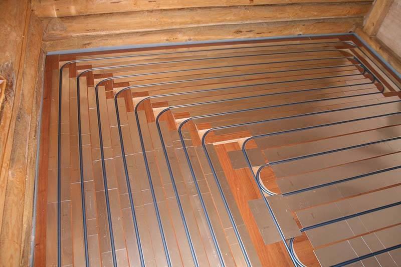 Электрический теплый пол на деревянный пол: как это сделать?