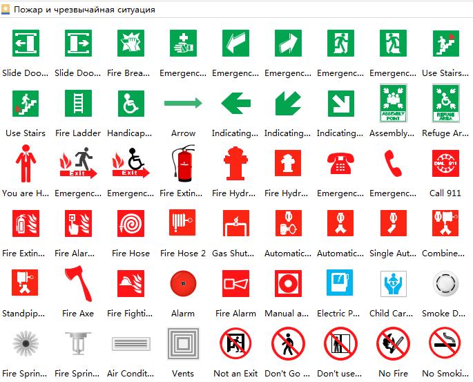 Эвакуационный план: инструменты для изготовления, разработка и утверждение