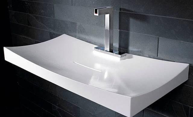 Высота установки умывальника в ванной от пола, какие стандарты установки