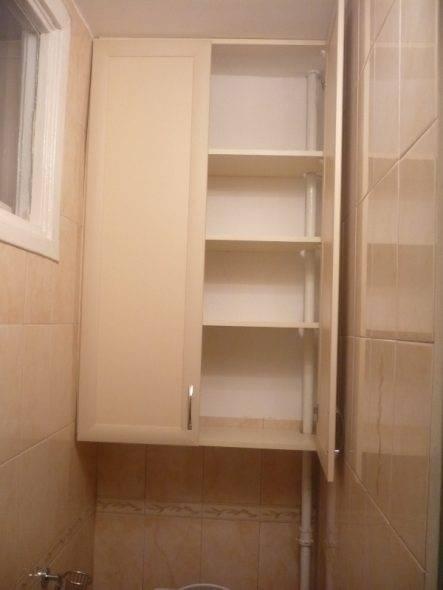 Шкаф в туалете за унитазом из гиспокартона своими руками | gipsokart.ru