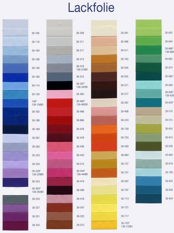 Натяжные потолки – палитра цветов и широкий ассортимент