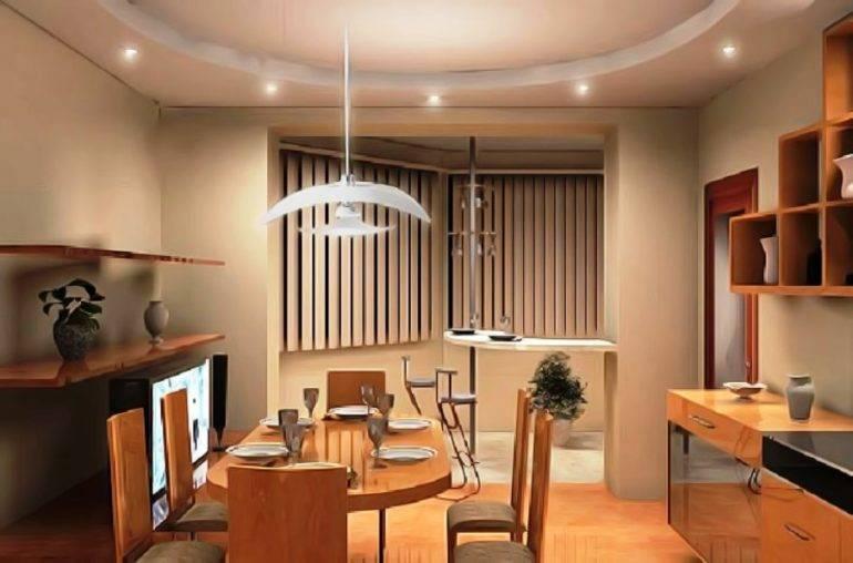 Кухня совмещенная с лоджией, 50 новых идей на любой вкус