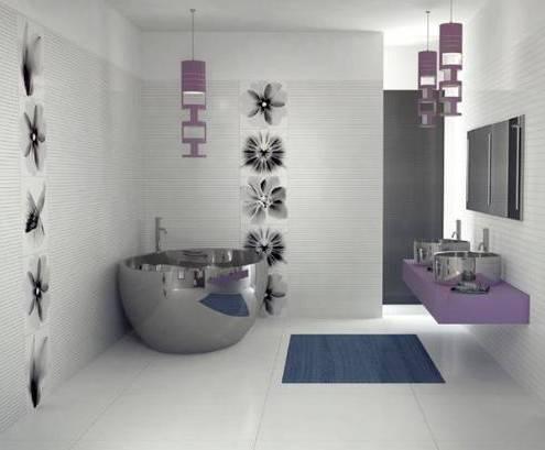 3d-пол в ванной (55 фото): варианты дизайна в ванной комнате, красивые примеры