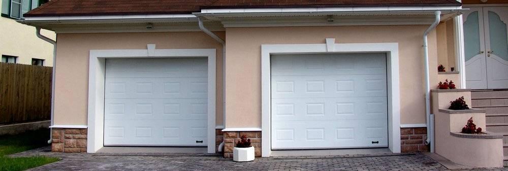 Как сделать и выполнить установку роллетных ворот для гаража своими руками