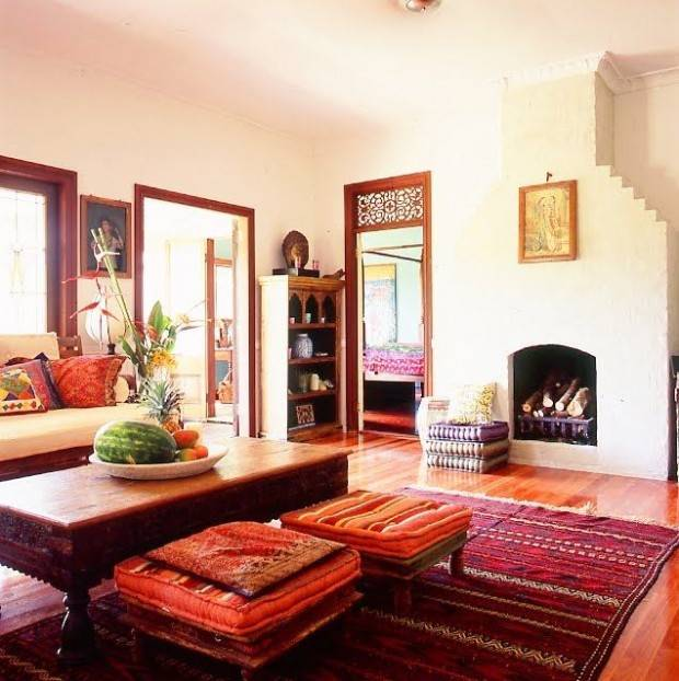 Индийский стиль в интерьере: красивые дизайны квартир