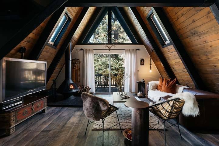Особенности проектов и планировки дома шалаша