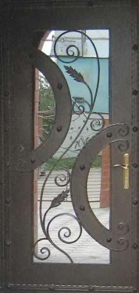 Чертеж металлической двери с размерами, изготовление коробки и полотна своими руками