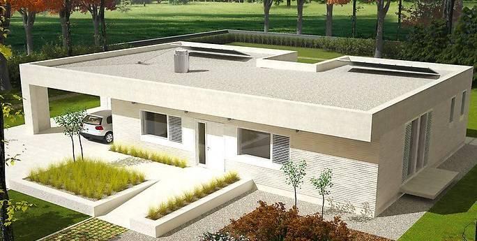 Проекты домов с плоской крышей (62 фото): новые материалы - новые возможности - happymodern.ru