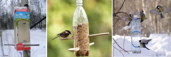Кормушки для птиц – поделки из пластиковых бутылок: идеи, фото. как сделать кормушку для птиц из пластиковой бутылки 1.5, 5 литровой своими руками: схема, описание, фото. как изготовить кормушку для птиц из 2 бутылок?
